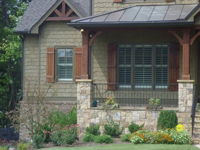 Wood Window Shutters Rustic Plantation Shutter Styles Can Suit Any Style Home