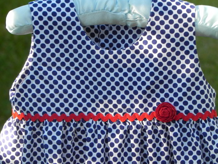Baby Dress Free Sewing Pattern And Tutorial Sew Jereli