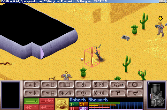 UFO: Enemy Unknown - Heavy Cannon Screenshot
