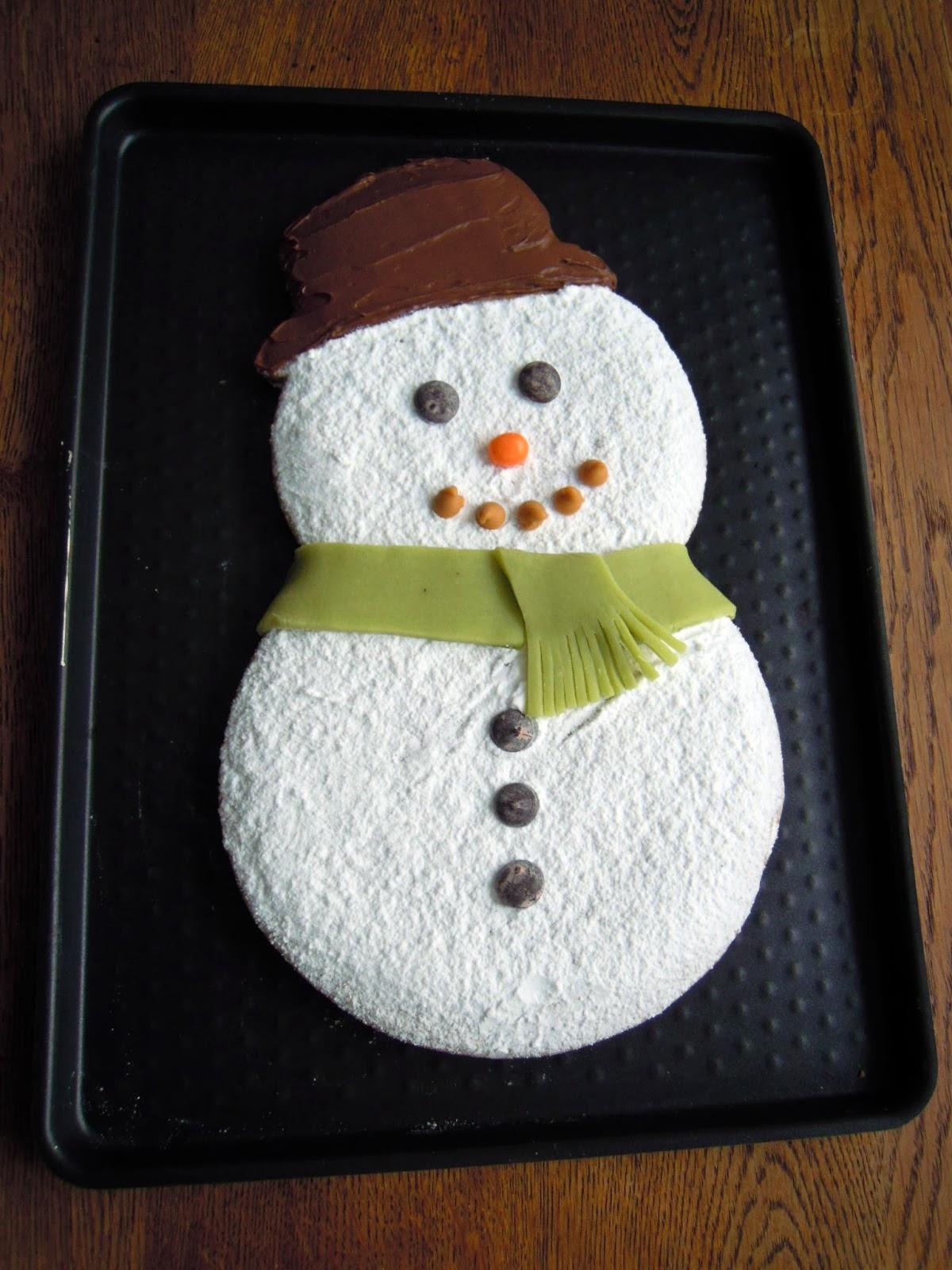 le bonhomme de neige géant en d épices recette