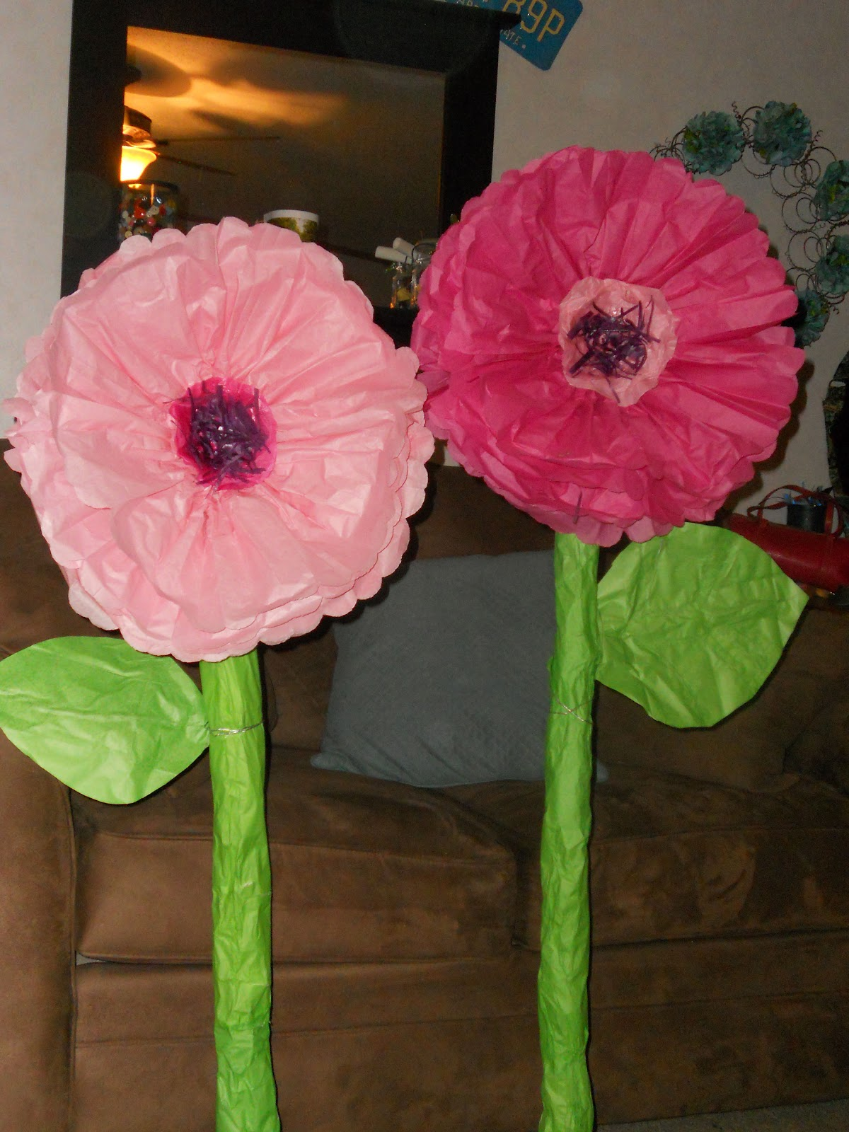 The Mad Recycler DIY Giant Whimsical Paper Flowers