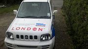 The London logo looks good on the Jimny