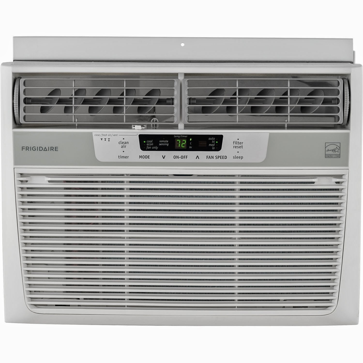 Frigidaire Energy Star 12,000 BTU 115V Window-Mounted Compact Air Conditioner w/ Temperature Sensing Remote Control, FFRE1233Q1