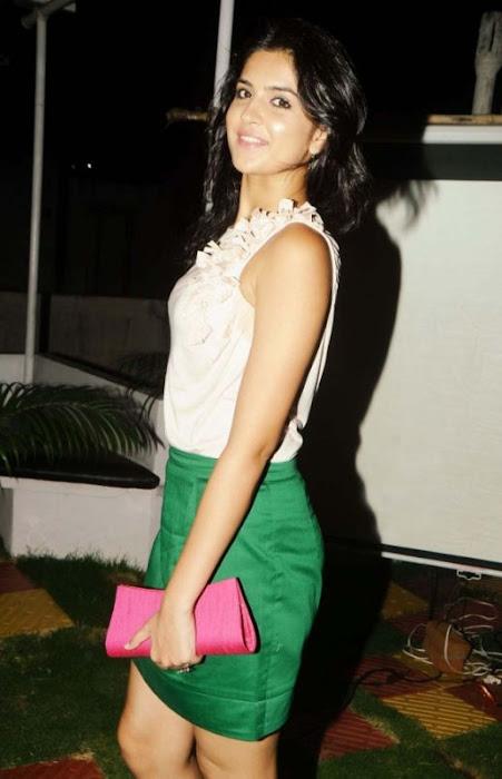 deeksha seth in skirt glamour  images