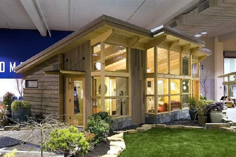 Home plans and home plan pictures 2011 contemporary green Contemporary modular home designs