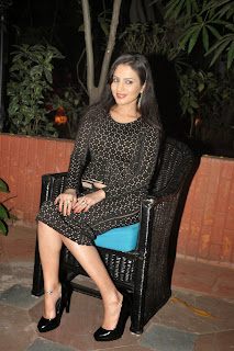 Anu Smruthi Latest Pictures in Short Dress at Heroine Movie Audio Launch ~ Celebs Next