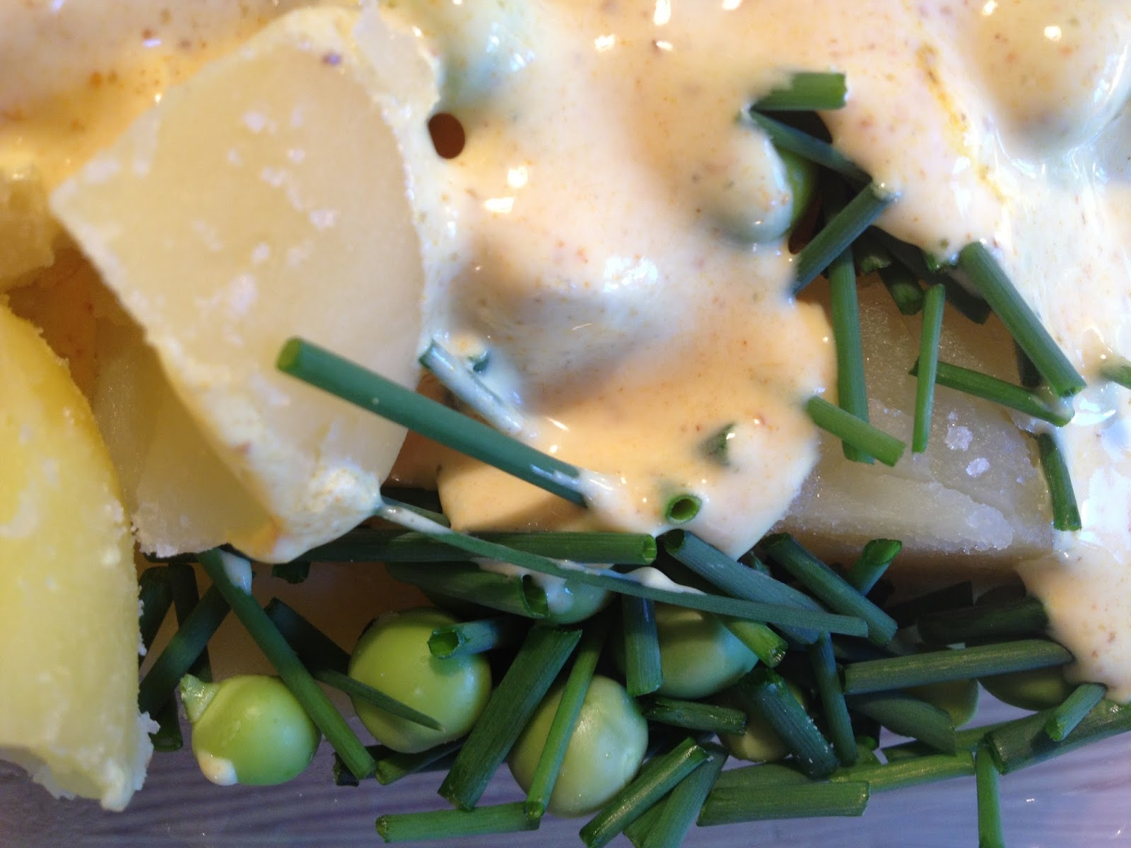 Hurtig Og Nem Kartoffelsalat Med Få Ingredienser