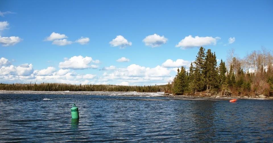 Bow narrows camp blog on red lake ontario heavy snowfall for Red lake ice fishing resorts