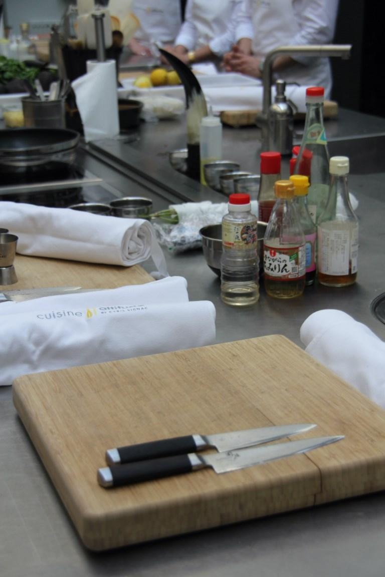 Philo aux fourneaux a la d couverte de l 39 atelier de cyril for Atelier cuisine cyril lignac