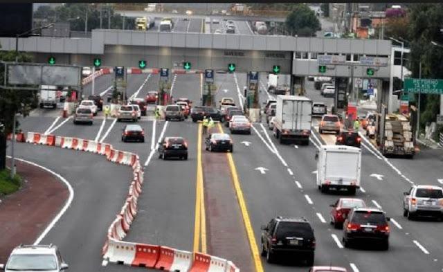 Cobros, autopista, autos