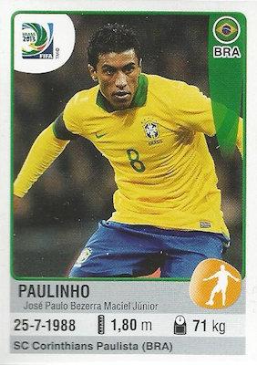 Panini 33 34 /& 35 Team Brasil Confed Cup 2013 Brasilien