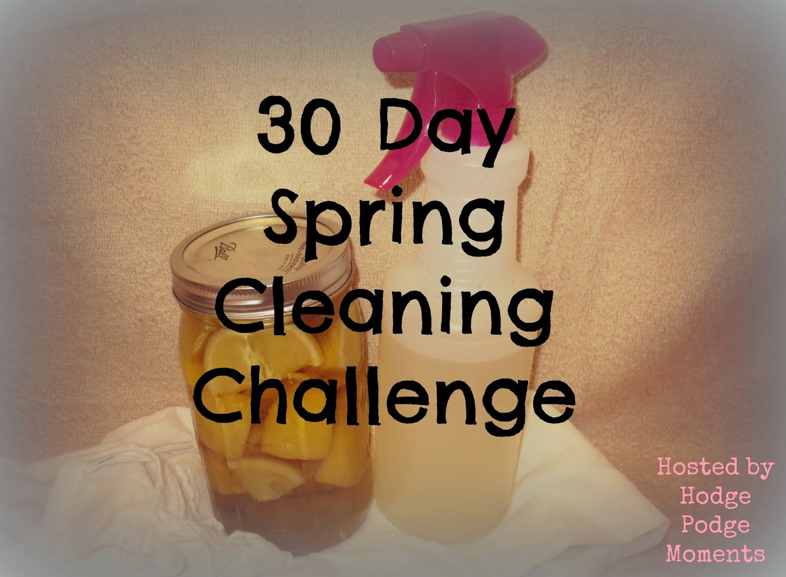 Join Me for Spring Cleaning!