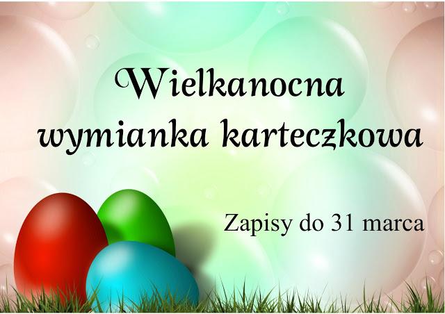 Wielkanocna wymianka karteczkowa