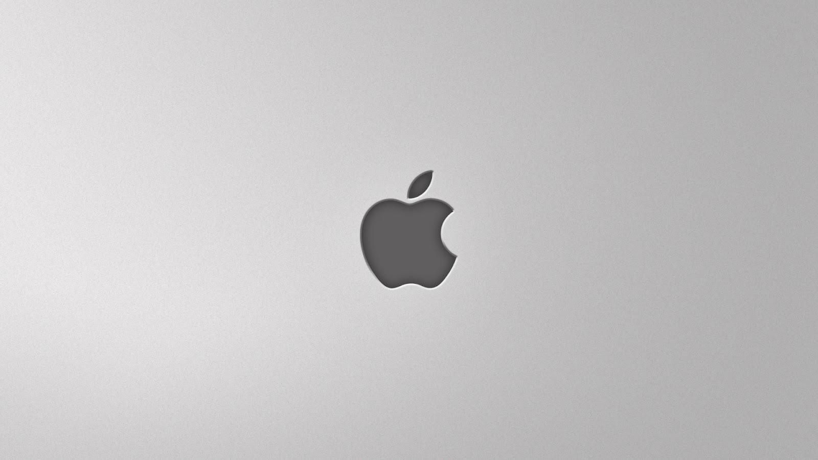 Simple Wallpaper Macbook Minimalist - Minimal_Apple_Logo_Grey_HD_Desktop_Wallpaper  Snapshot_264991.jpg