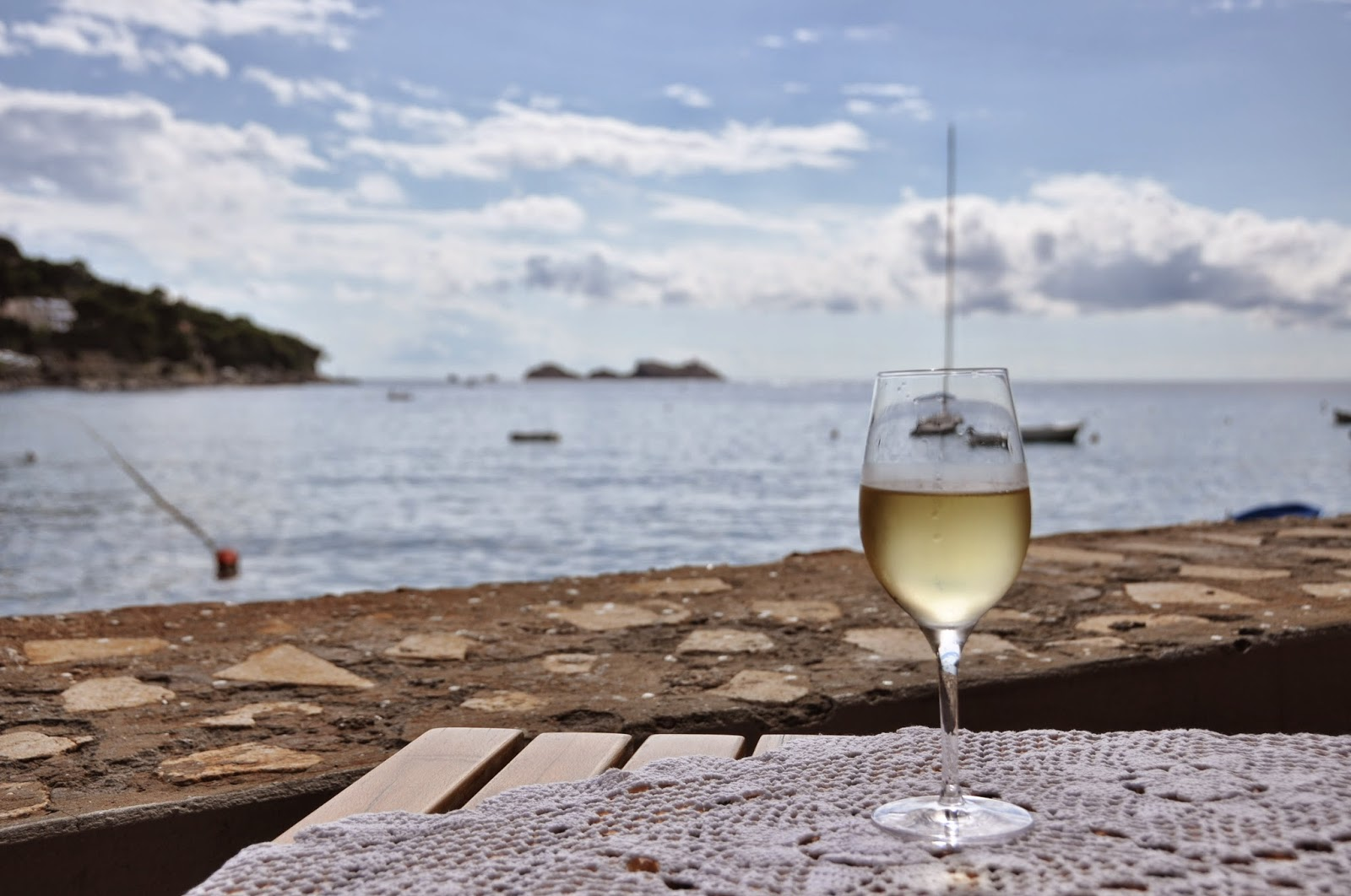 Croatian White Wine, Lapad Bay, Dubrovnik