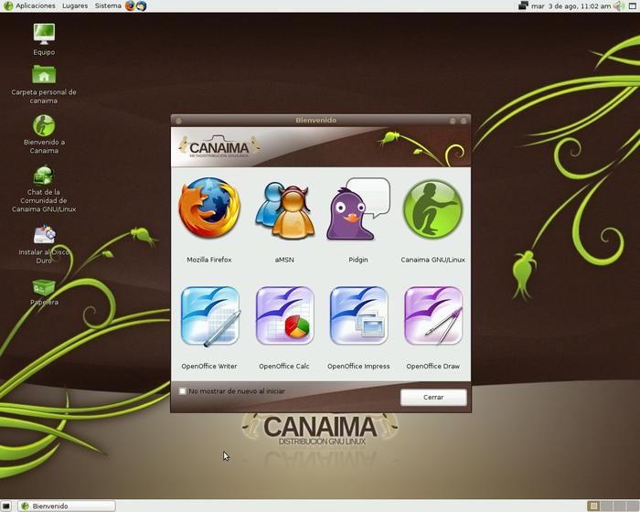 Gambar Desktop Canaima