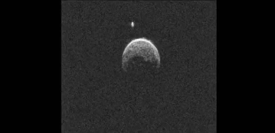Radar image of asteroid 2004 BL86. Credit: NASA/JPL