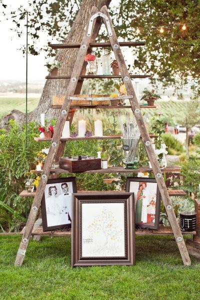 Restoration Rentals Event Decor Old Ladders