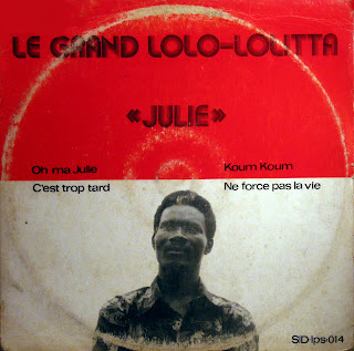Le Grand Lolo Lolitta - Julie,Societ? Ivoirienne du Disque