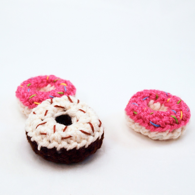 Amigurumi Donut : FREE MINITURE CROCHETT PATTERNS Easy Crochet Patterns