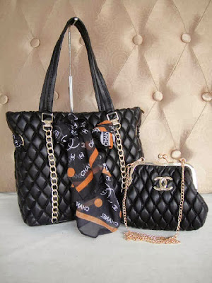 Tas Chanel 9636 (Black)