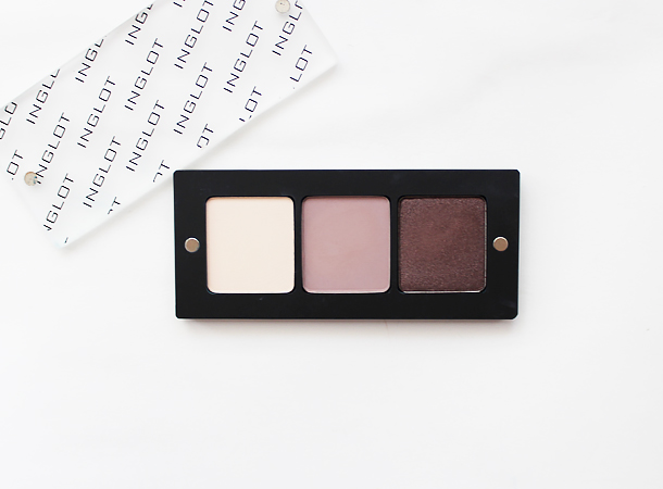 inglot eyeshadow review swatch 353 344 423