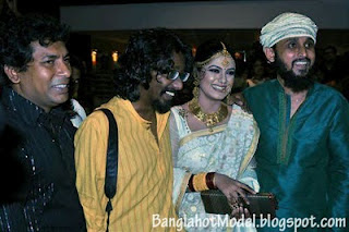 Tisha, Faruki With Mosharaf karim and Amitab Reja.