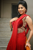 Ziya Khan Glamorous Photos in Red-thumbnail-13