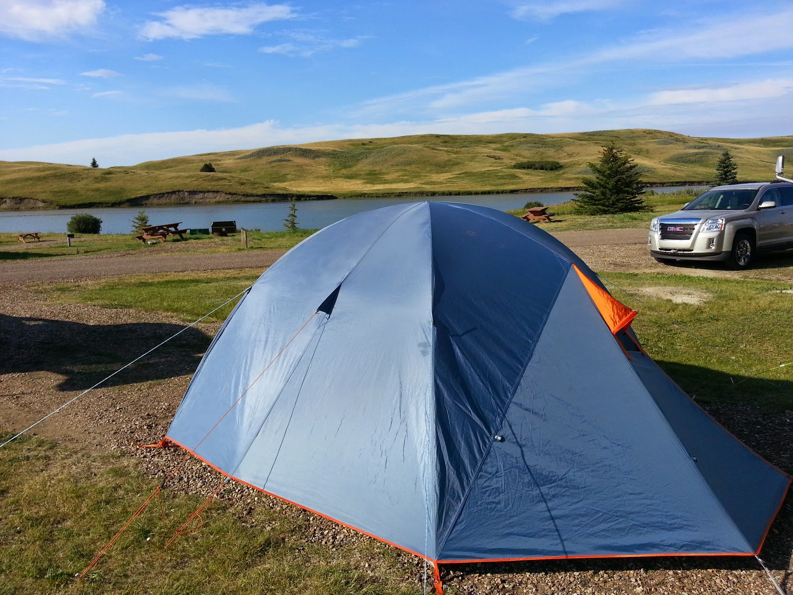 MEC Wanderer Tent - check out that fly! Pretty weatherproof! & How to Choose a Tent Qu0026A - Play Outside Guide