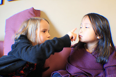 make-up with kids