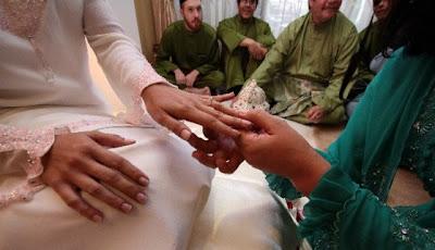 Rina Omar Majlis Pertunangan