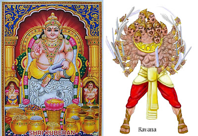 kubera and ravana