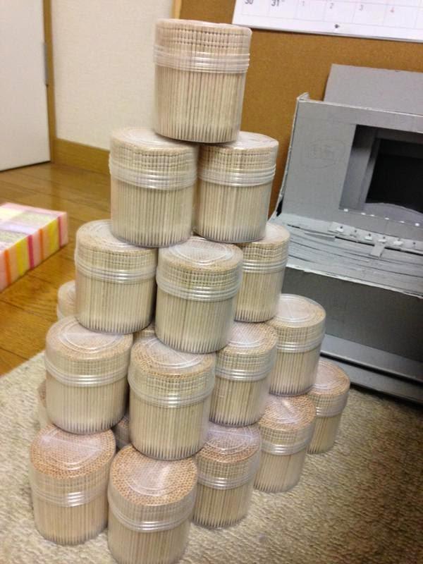 14000 palillos