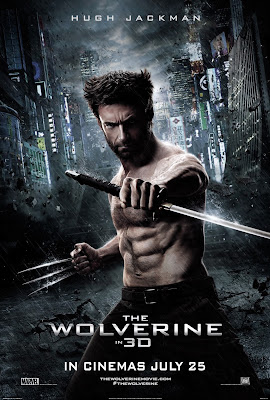 The Wolverine movie poster large malaysia