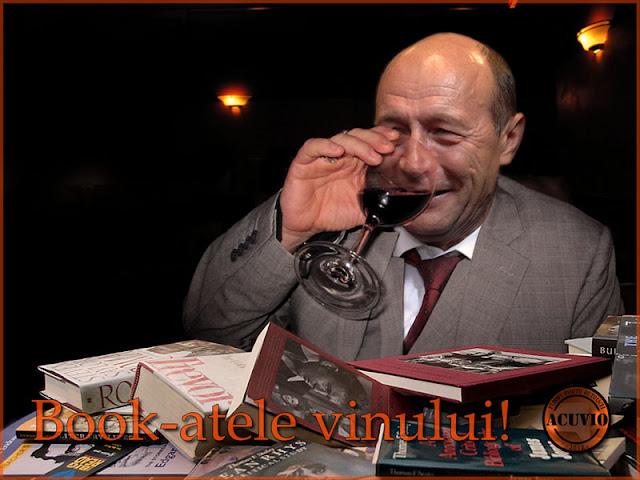 Funny quote image Traian Basescu Bookatele vinului