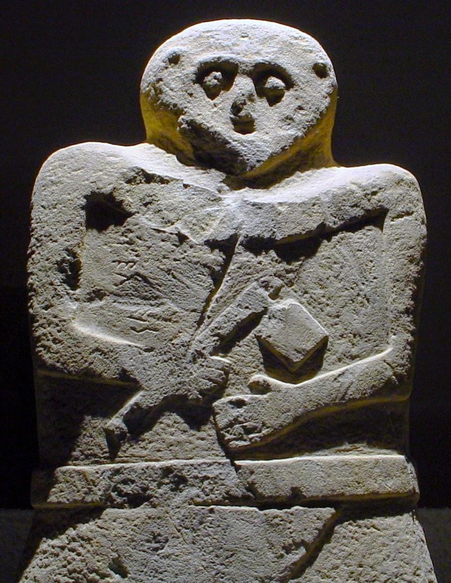 Prehistoric Lunigiana Stele Statue