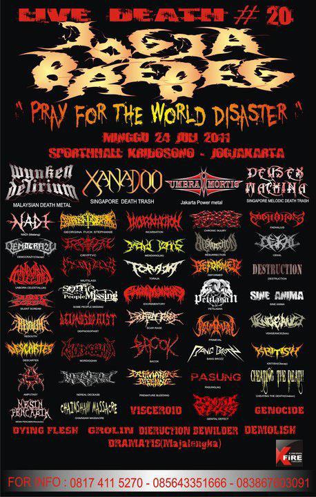 LIVE DEATH # 20 - 2011