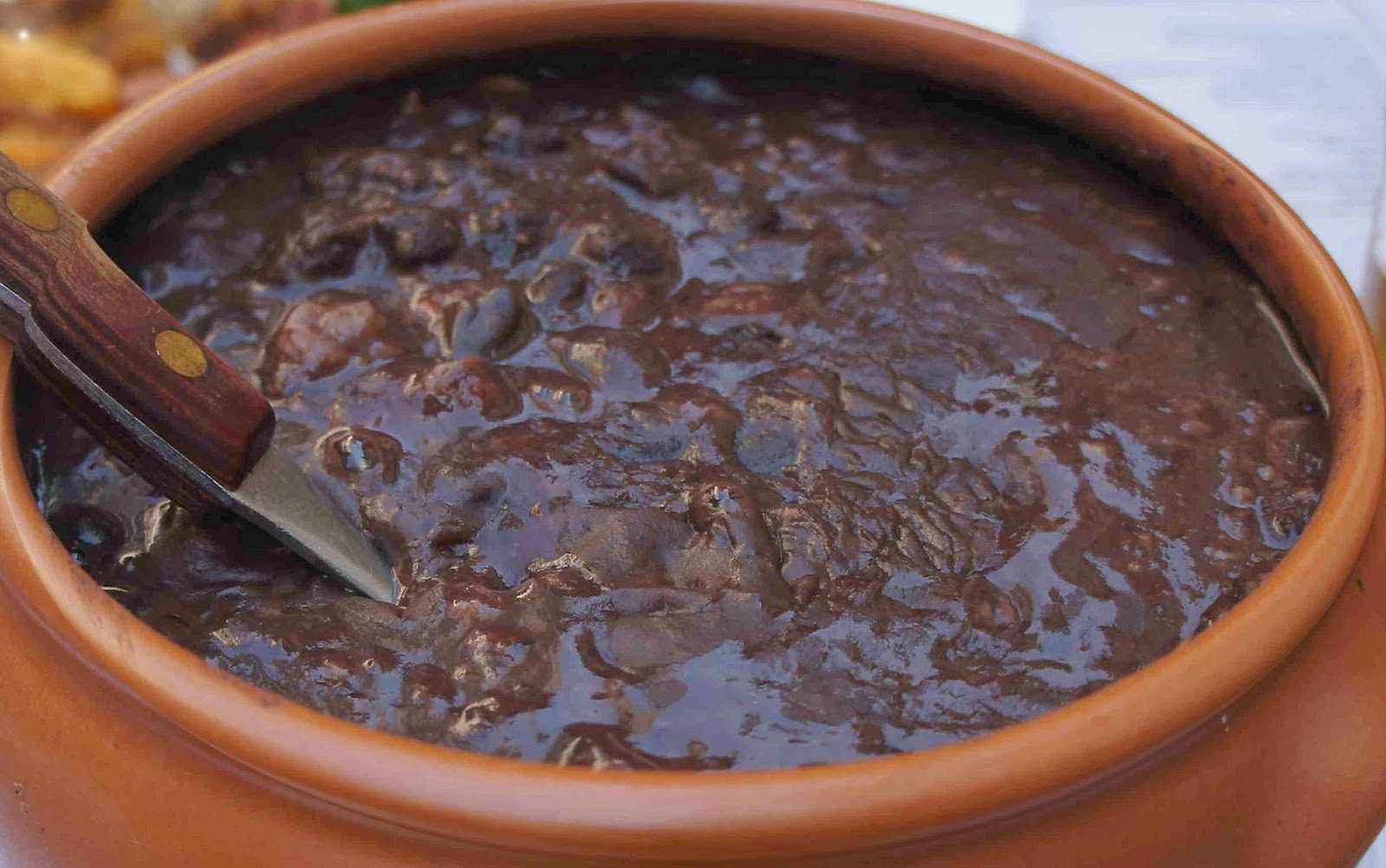 Culinary Physics: Homemade Refried Black Beans Recipe ...