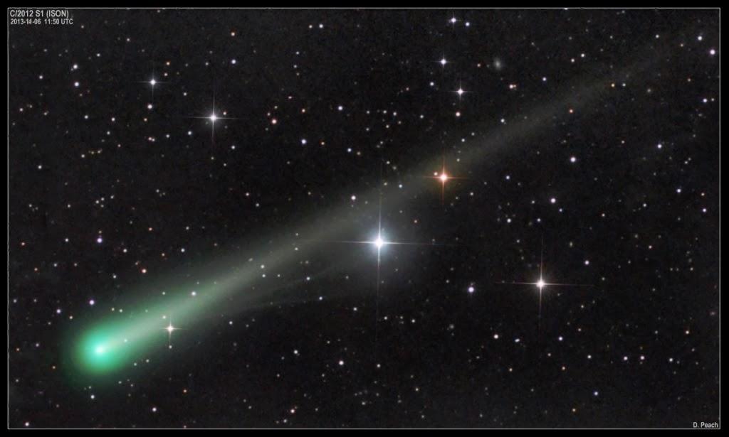 The Comet ISON Walgatharuwa Sri Lanka
