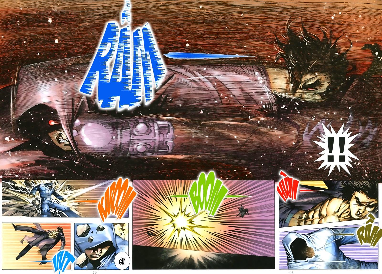 Tuyệt Địa Thiên Hành chap 8 Trang 18 - Mangak.info