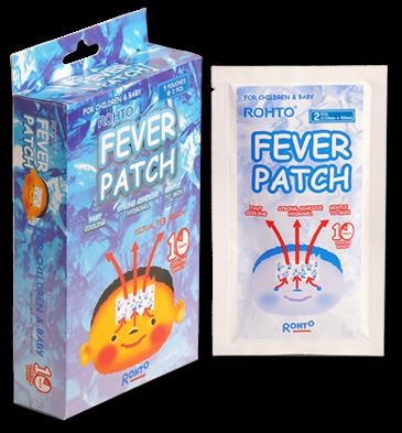Fever Patch Plester Penurun Demam dari Rohto, Produk Rohto