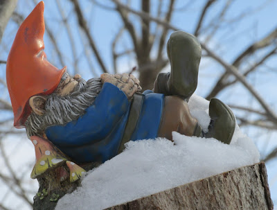 Gnome sleeping