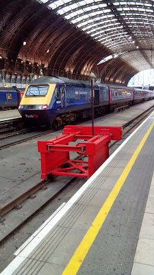 First Great Western HST at London Paddington Train Station