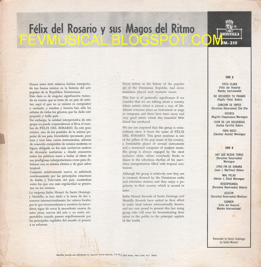 Felix Del Rosario Y Sus Magos Del Ritmo El Locrio
