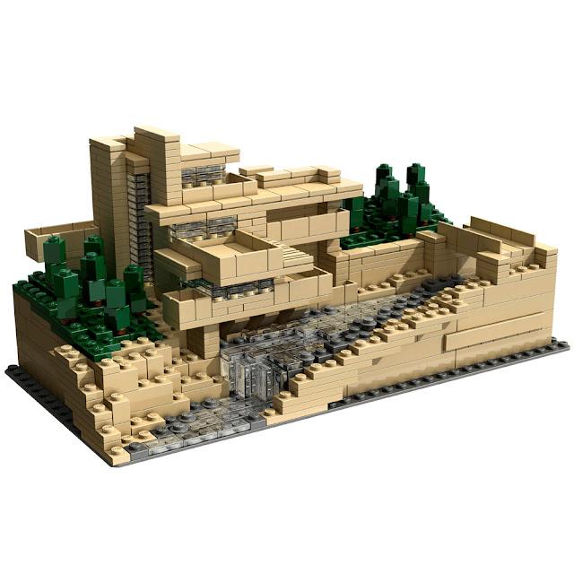 Lego Architecture Fallingwater7