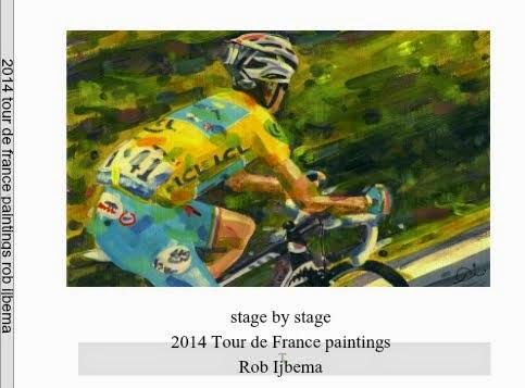2014 Tour de france book