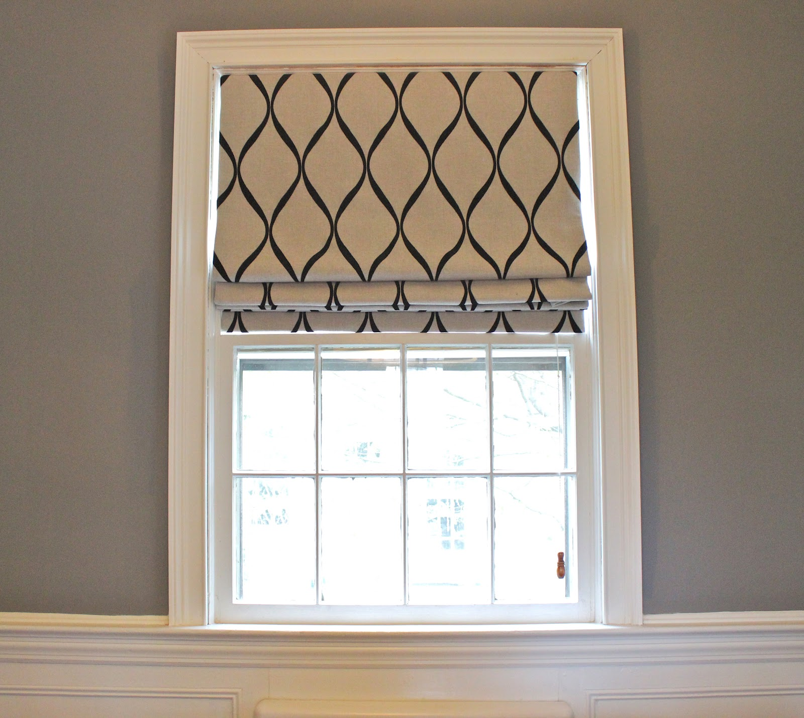 Dining Room: Roman Shades Or Blinds
