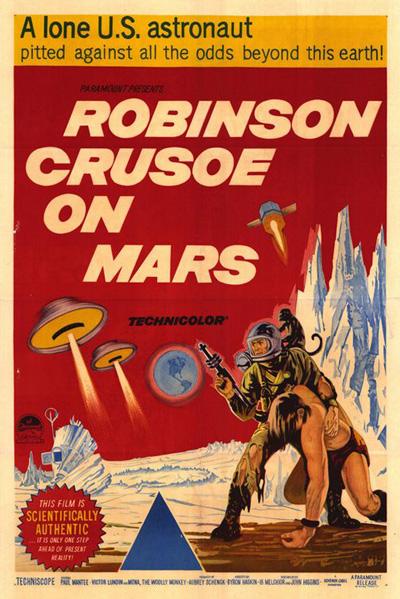 Un Universo De Ciencia Ficcin 1964 ROBINSON CRUSOE EN