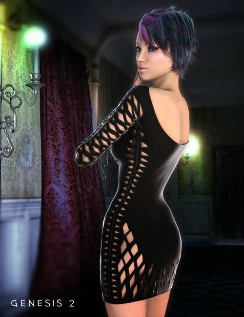Robe râpé pour Genesis 2 Femme