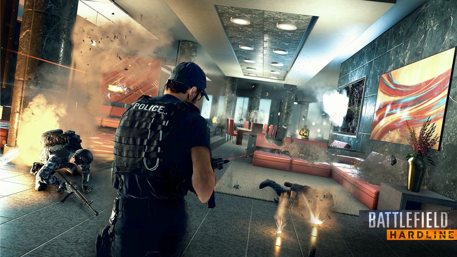 Battlefield Hardlline ya tiene fecha de lanzamiento